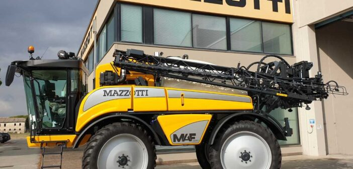 Mazzotti updates self-propelled sprayers for 2021