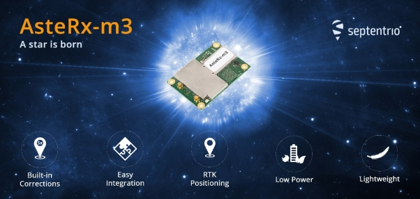 Septentrio unveils AsteRx-m3, the next generation of high-precision GNSS receivers