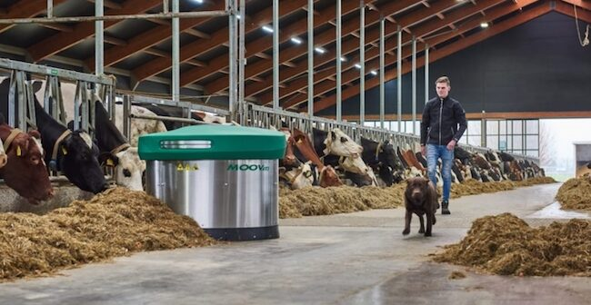 New smarter feed pushing robot launched